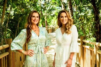 Grupo Vidanta trabajó con las importantes modelos y actrices, Brooke Shields y Jacqueline Bracamontes, para anunciar una serie de espectaculares proyectos en sus destinos.