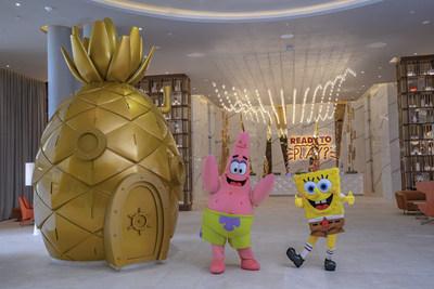 Nickelodeon Hotels & Resorts Riviera Maya lobby