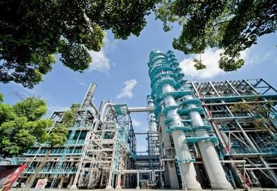 Planta de producción de Sinopec Gaoqiao Petrochemical Corporation. (PRNewsfoto/SINOPEC)