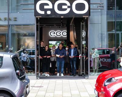 e.GO Brand Store opening in Hamburg, Germany