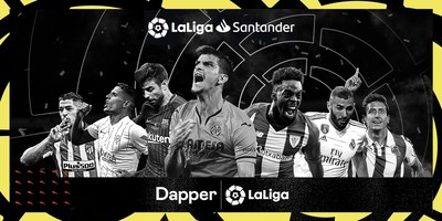 LALIGA JOINS FORCES WITH DAPPER LABS TO LAUNCH AN ALL NEW DIGITAL COLLECTIBLE EXPERIENCE FOR FOOTBALL FANS AROUND THE GLOBE