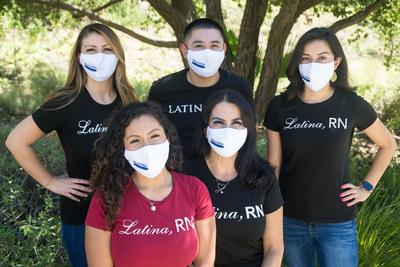 Martha Salmon, enfermera certificada que pasa su tiempo cuidando a la comunidad hispana, inspirando a otros latinos a seguir una carrera en el área de salud a través de su organización Latina, RN. (PRNewsfoto/Mucinex)