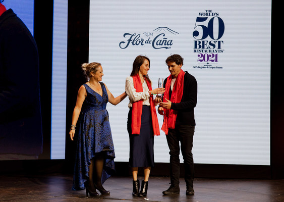 """Boragó wins the """"Flor de Caña World's Most Sustainable Restaurant Award""""."""